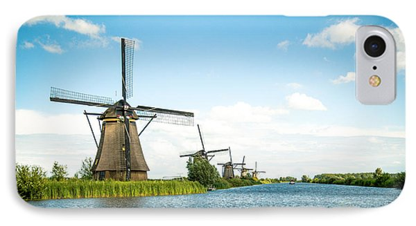 IPhone Case featuring the photograph Picturesque Kinderdijk by Hannes Cmarits