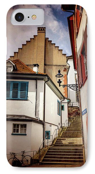 Picturesque Old Town Of Basel Switzerland  IPhone Case