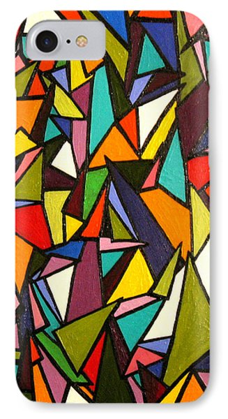 Pieces Phone Case by Kerry Bennett