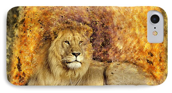 Pieces Of A Lion IPhone Case