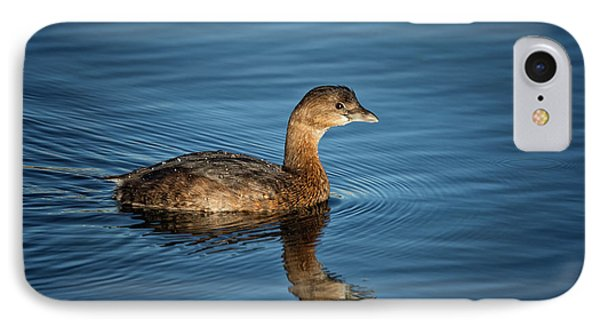 IPhone Case featuring the photograph Pied Billed Grebe by Randy Hall