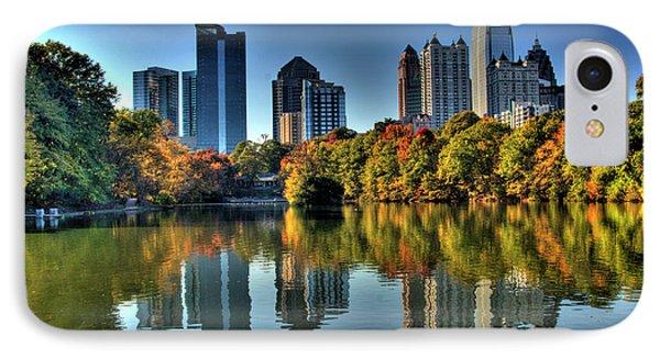 Piedmont Park Atlanta City View Phone Case by Corky Willis Atlanta Photography