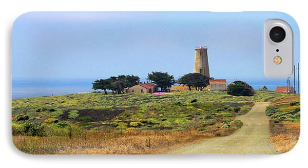 Piedras Blancas Historic Light Station - Outstanding Natural Area Central California Phone Case by Christine Till