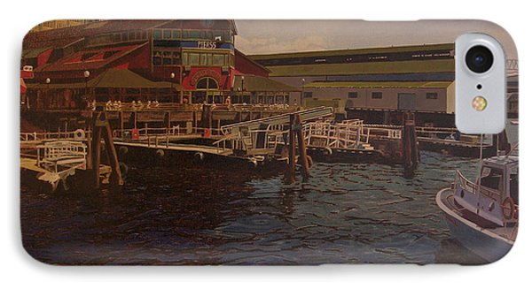 Pier 55 - Red Robin IPhone Case by Thu Nguyen