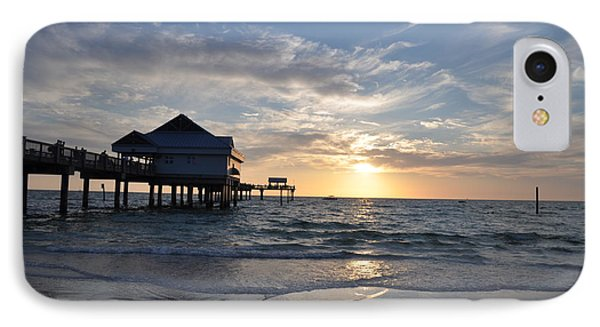 Pier 60 At Clearwater Beach Florida Phone Case by Bill Cannon