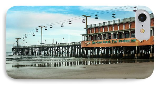 IPhone Case featuring the photograph Pier Daytona Beach by Carolyn Marshall