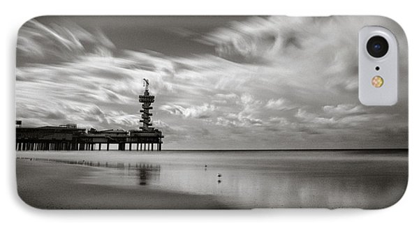 Pier End IPhone Case by Dave Bowman