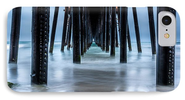 Pier Into The Ocean Phone Case by Leo Bounds