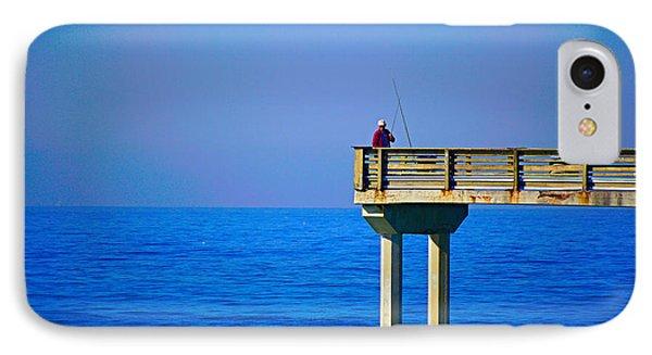 Pier Man IPhone Case