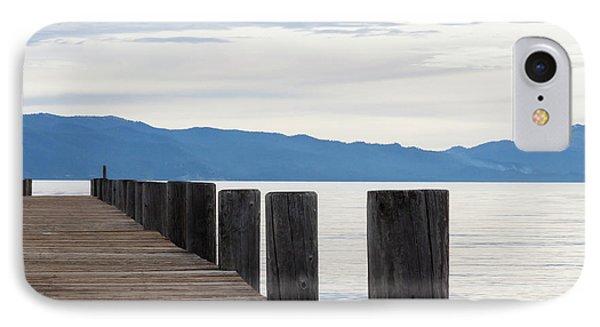 Pier On The Lake IPhone Case by Ana V Ramirez