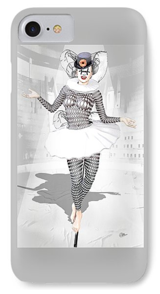 Pierrette  IPhone Case by Quim Abella