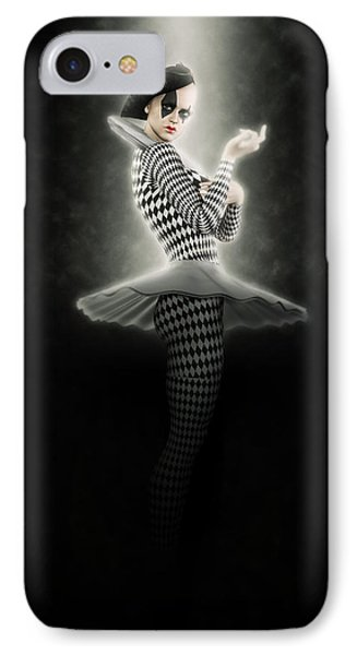 Pierrette Of The Moon. IPhone Case