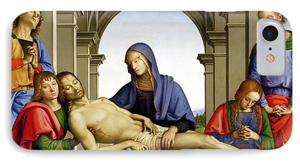 Pieta Phone Case by Pietro Perugino