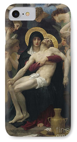 Pieta Phone Case by William Adolphe Bouguereau