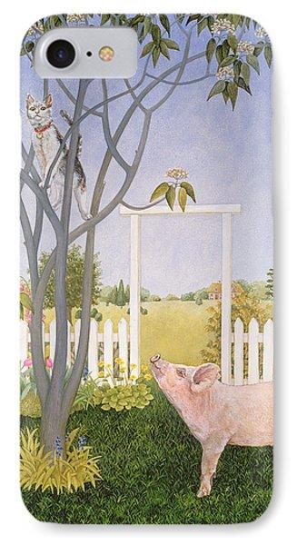 Pig And Cat IPhone Case