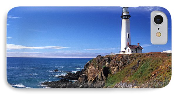 Pigeon Point Lighthouse 2 Phone Case by Kathy Yates