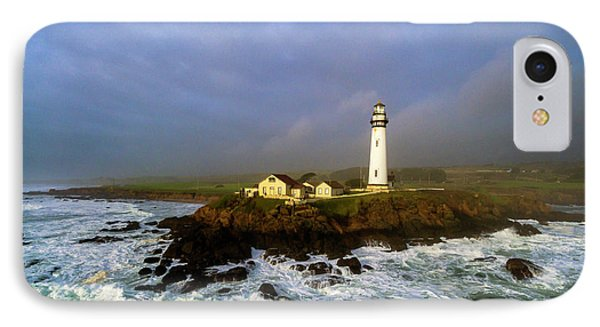 IPhone Case featuring the photograph Pigeon Point Lighthouse by Evgeny Vasenev