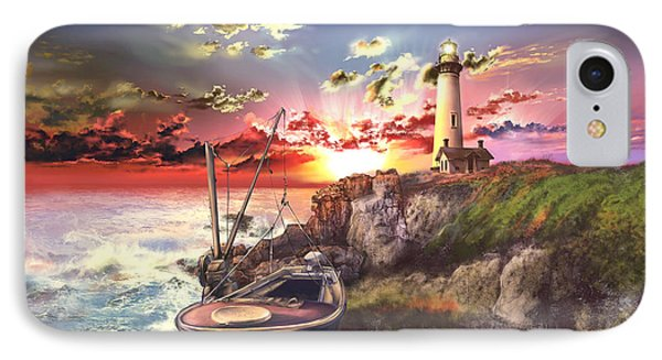 Pigeon Point Lighthouse IPhone 7 Case