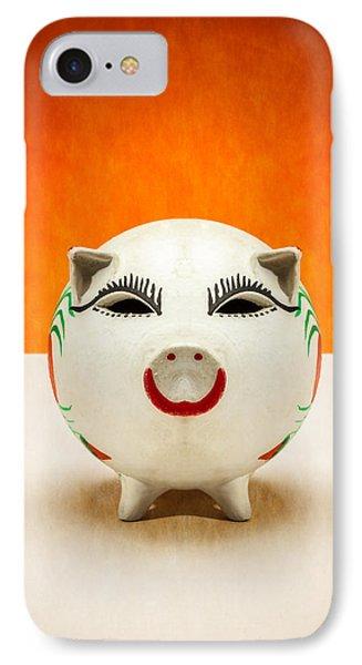 Piggy Bank Smile IPhone Case by Yo Pedro