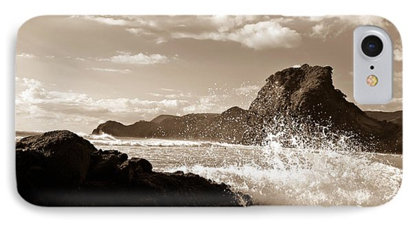 Piha New Zealand Waves IPhone Case