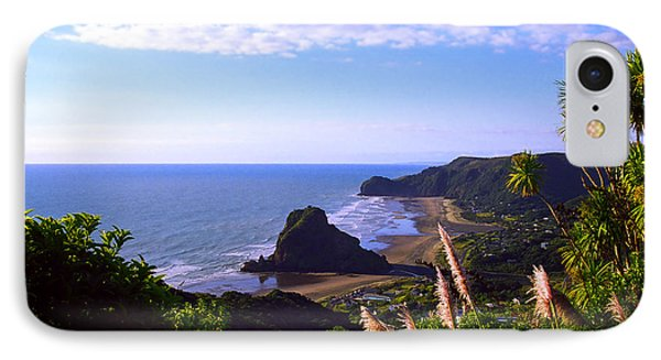 Piha Panorama Phone Case by Kevin Smith