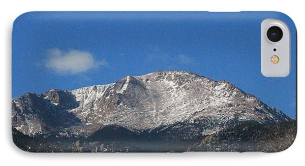 Pikes Peak IPhone Case by Christopher Kirby