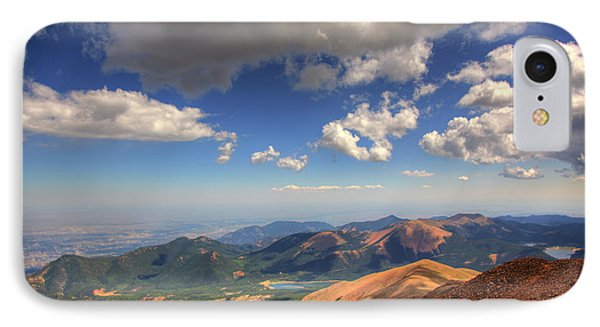 Pikes Peak Summit IPhone Case by Shawn Everhart