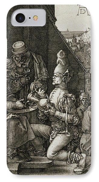 Pilate Washing His Hands IPhone Case by Albrecht Durer