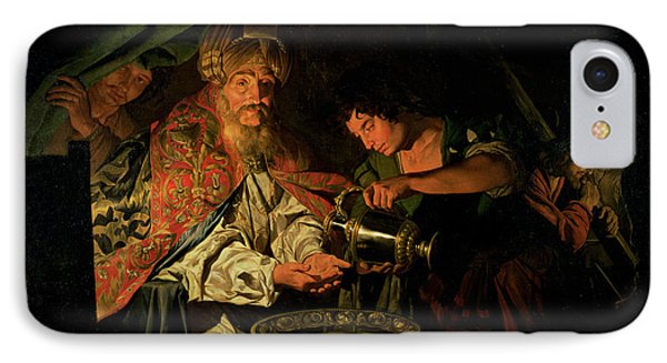 Pilate Washing His Hands IPhone Case by Stomer Matthias