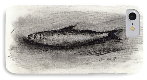 Pilchard Drawing IPhone Case