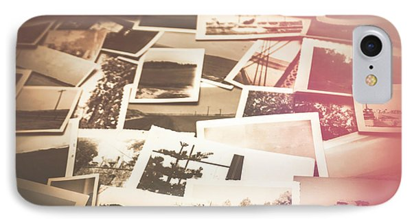 Pile Of Old Scattered Photos IPhone Case by Jorgo Photography - Wall Art Gallery