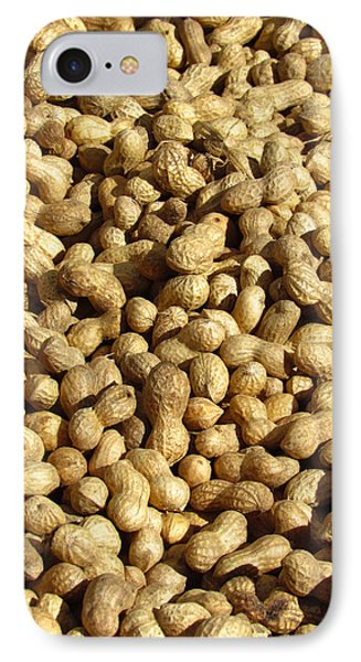 Pile Of Peanuts IPhone Case by Bonnie Muir