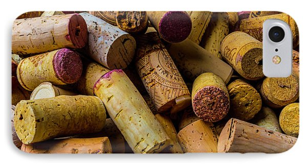 Pile Of Wine Corks IPhone Case by Garry Gay