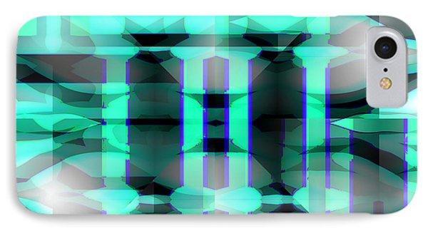 Pillars Of Hercules IPhone Case by Abstract Angel Artist Stephen K