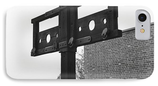 Pillory In Colonial Williamsburg IPhone Case
