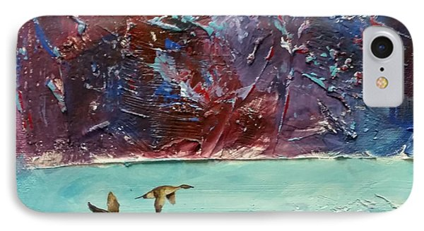 IPhone Case featuring the painting Pin Tails by David  Maynard