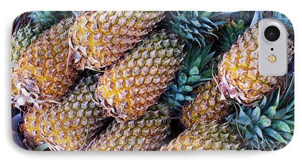 Pinapples IPhone Case by Tim Gainey