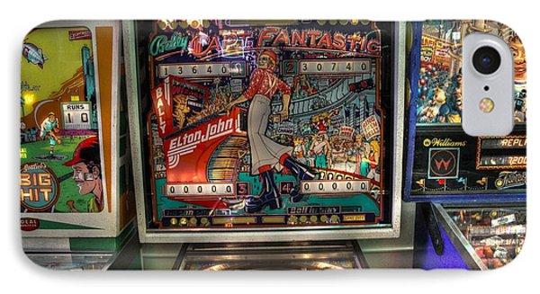 Elton John iPhone 7 Case - Pinball Elton John Bally by Jane Linders