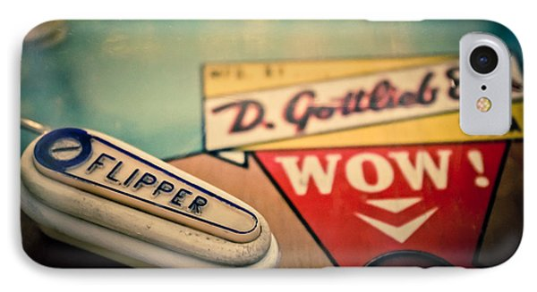 Pinball - Wow IPhone Case by Colleen Kammerer