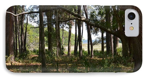IPhone Case featuring the photograph Pinckney Island by Carol  Bradley
