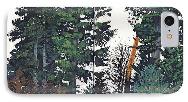 Pine And Fir Tree Forest IPhone Case by Martin Stankewitz
