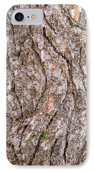 IPhone Case featuring the photograph Pine Bark Abstract by Christina Rollo