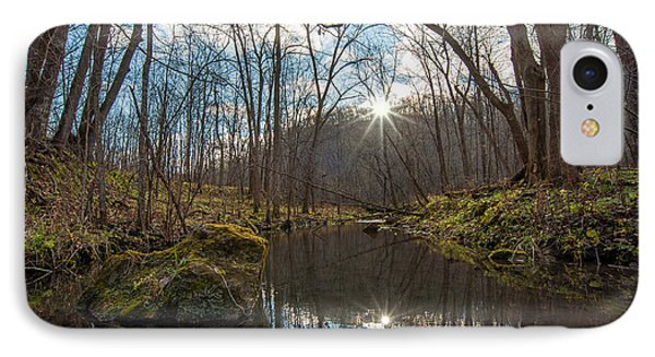 IPhone Case featuring the photograph Pine Creek by Dan Traun