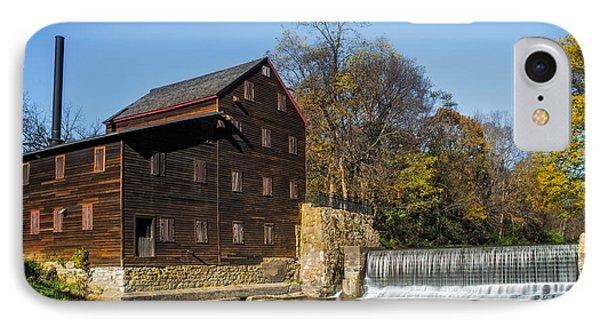 Pine Creek Grist Mill 2 IPhone Case