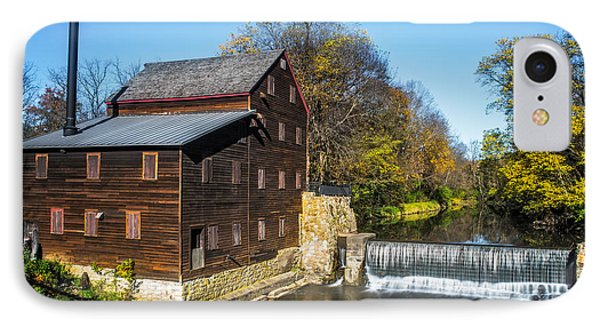Pine Creek Grist Mill IPhone Case by Paul Freidlund