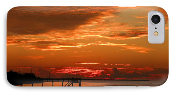 Pine Island Sunset IPhone Case by Rosalie Scanlon
