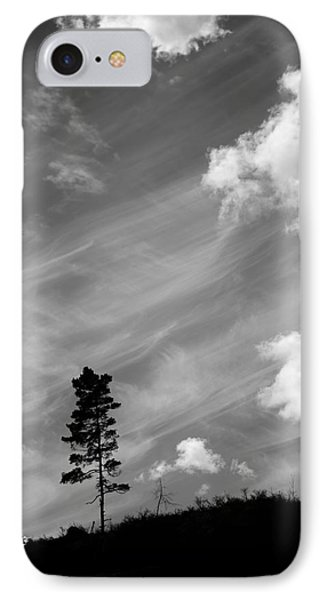 Pine Silhouettes IPhone Case by Tommytechno Sweden