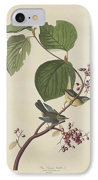Pine Swamp Warbler IPhone Case by Rob Dreyer