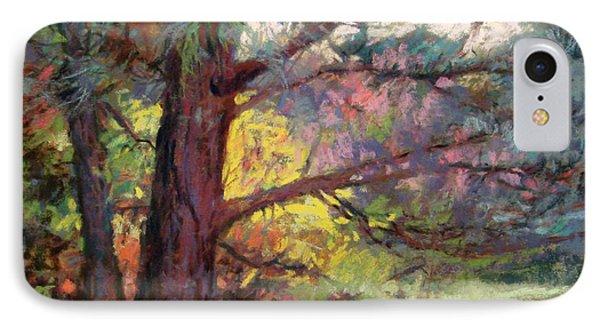 Pine Tree Dance Phone Case by Donna Shortt