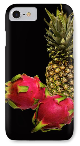 IPhone Case featuring the photograph Pineapple And Dragon Fruit by David French